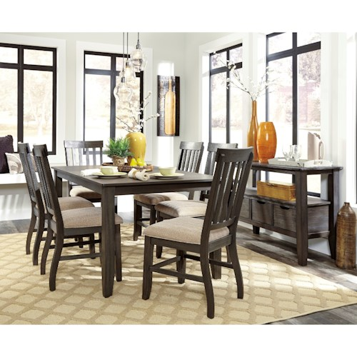 Signature Design by Ashley Dresbar Casual Dining Room Group