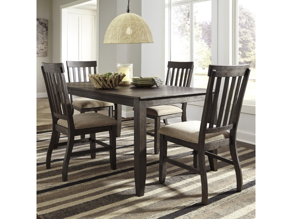 Signature Design by Ashley Dresbar5-Piece Rectangular Dining Table Set