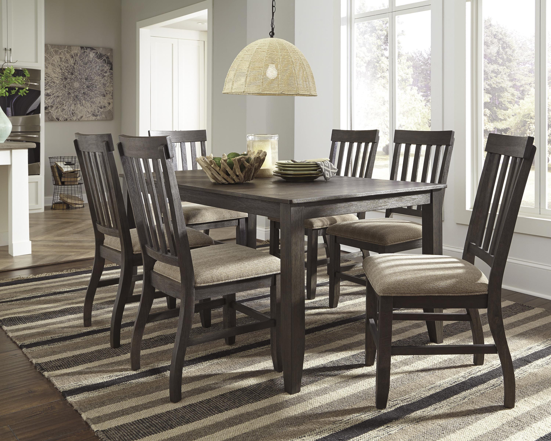 ... Signature Design by Ashley Dresbar7-Piece Rectangular Dining Table Set & Signature Design by Ashley Dresbar 7-Piece Rectangular Dining Table ...