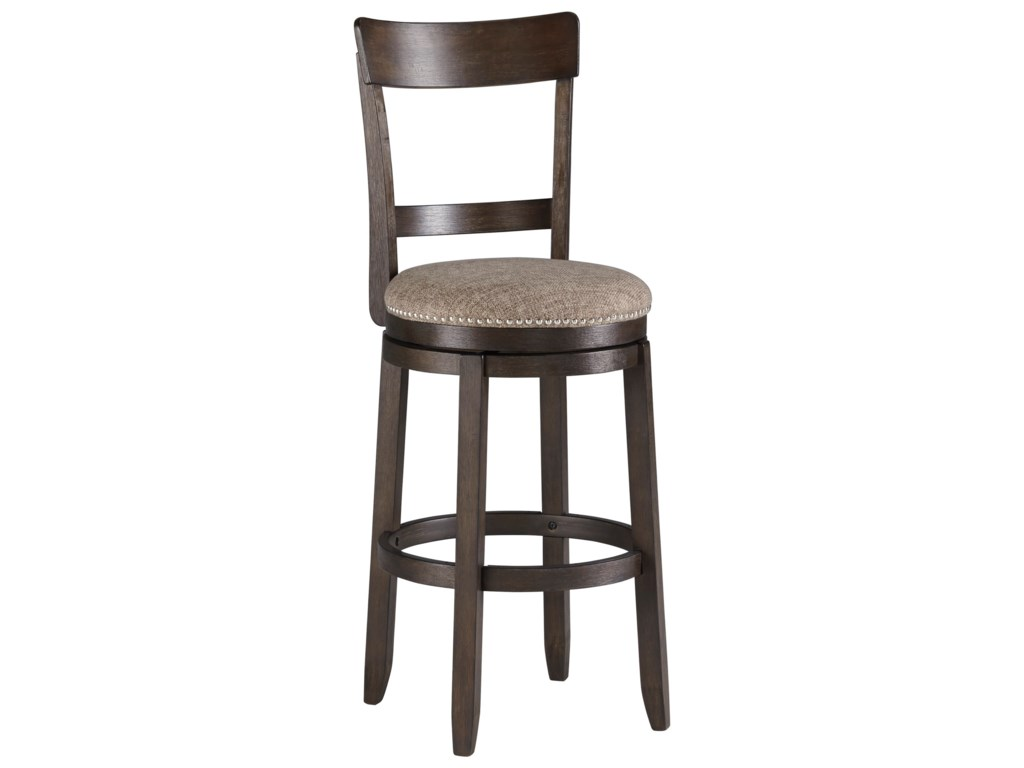 Signature Design by Ashley DrewingUpholstered Swivel Barstool