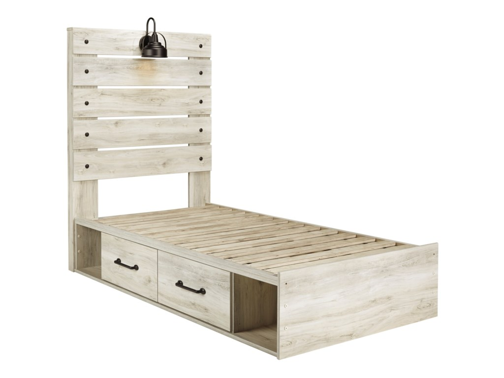 Benchcraft CambeckTwin Storage Bed with 4 Drawers