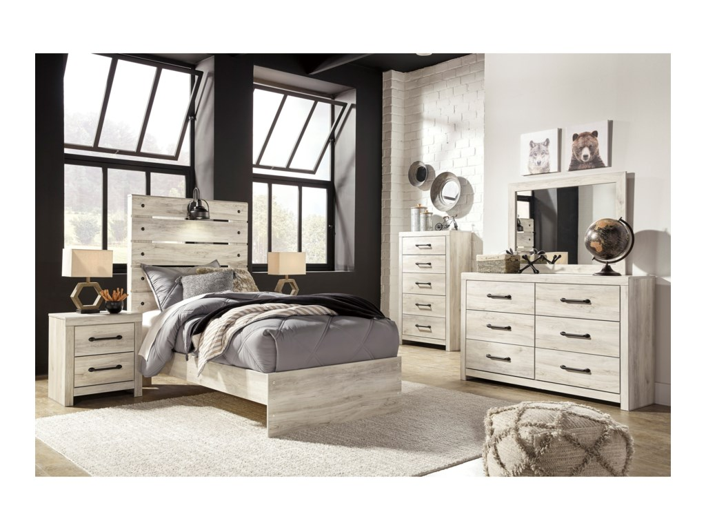 Signature Design by Ashley CambeckTwin Panel Bed