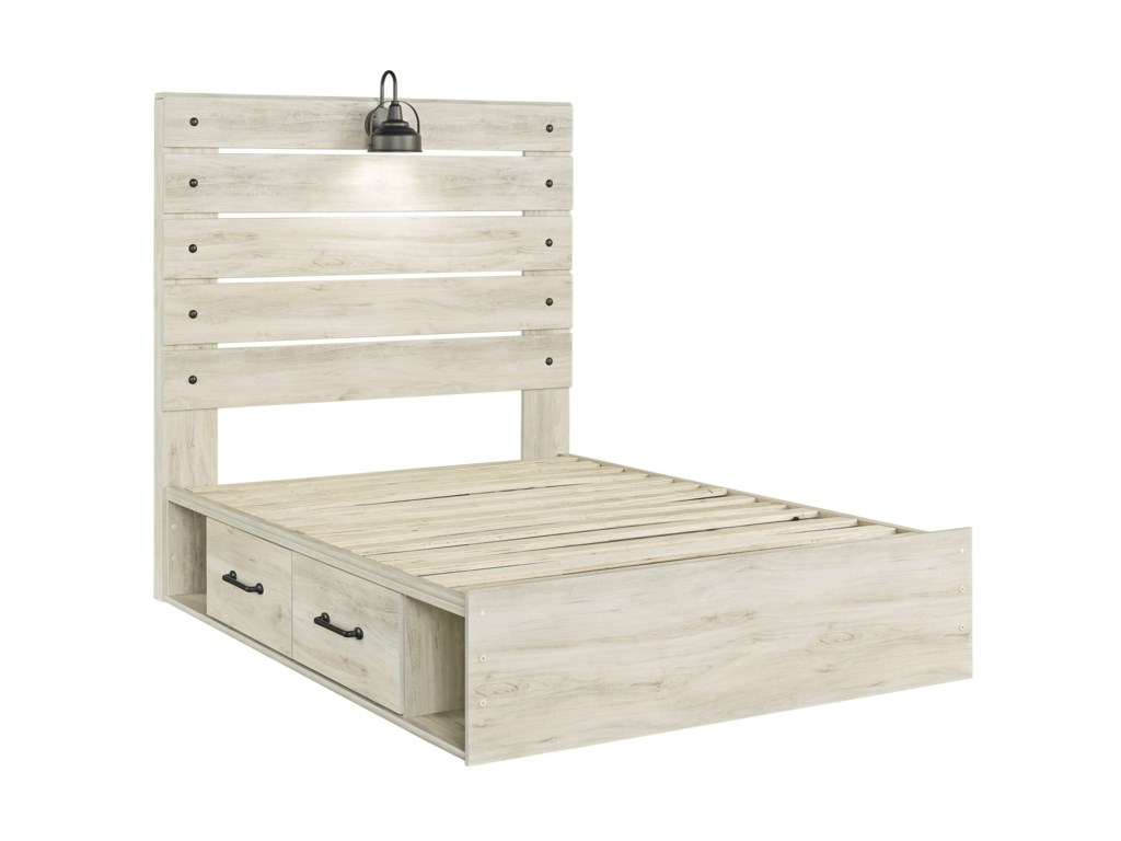 Signature Design by Ashley CambeckFull Storage Bed with 4 Drawers