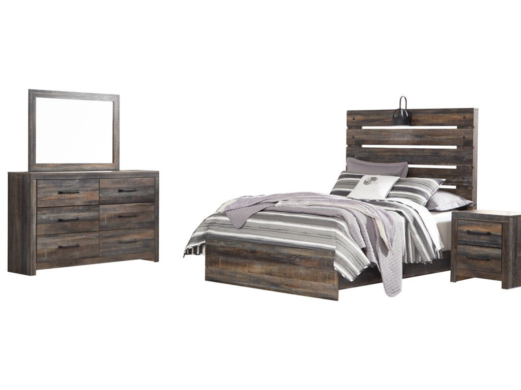 Signature Design by Ashley DrystanFull Bedroom Group