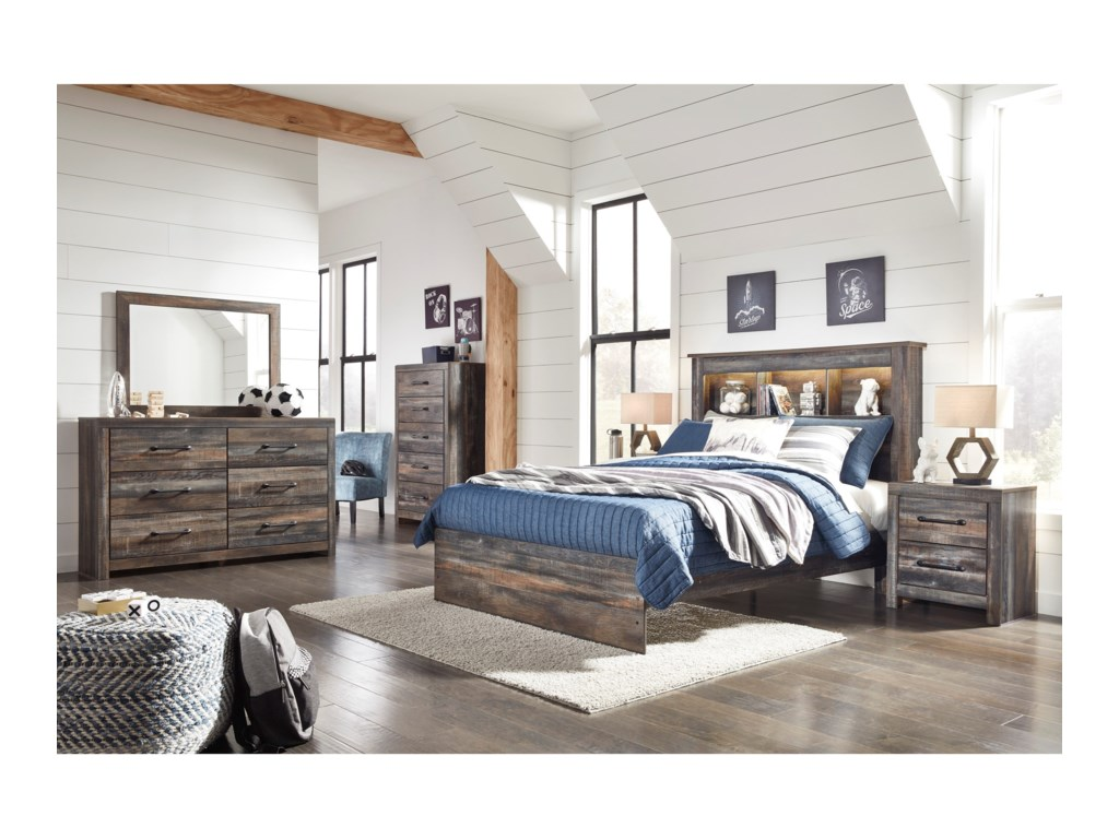 Signature Design by Ashley DrystanQueen Bedroom Group