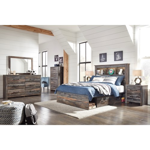 Signature Design by Ashley Drystan Full Bedroom Group