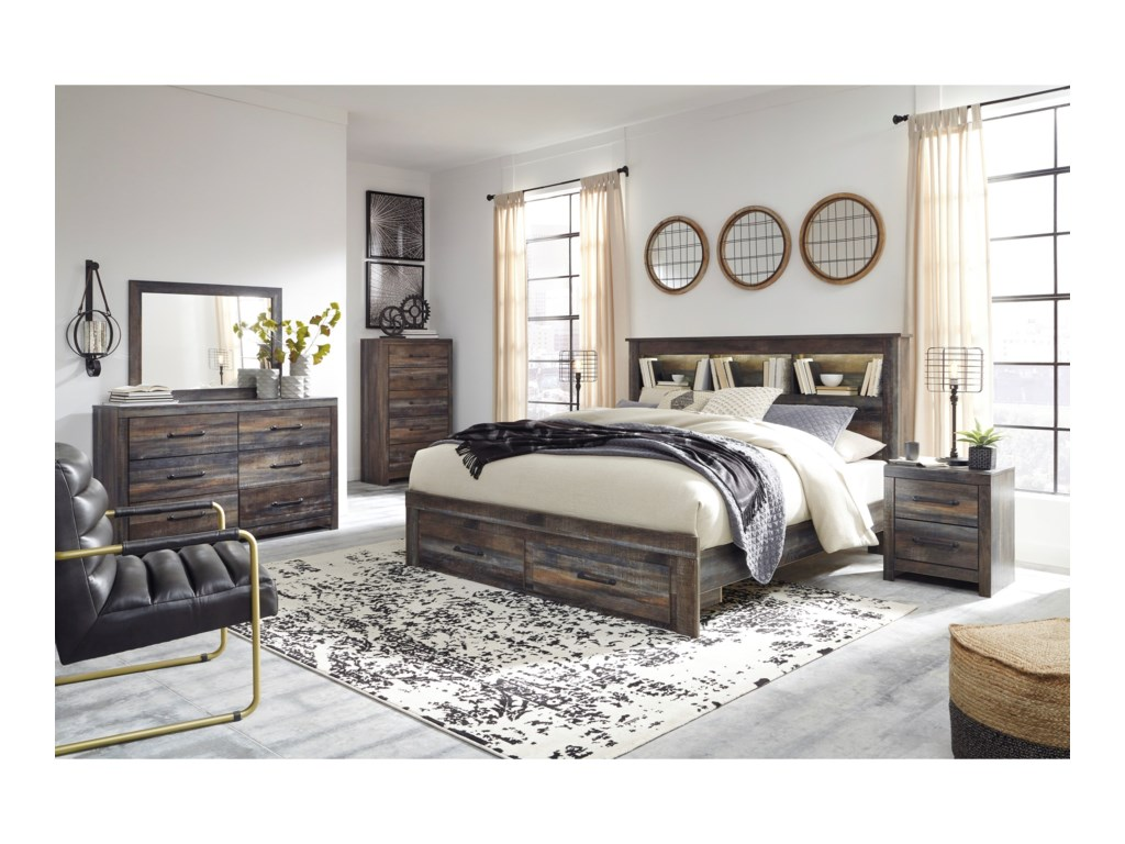 Signature Design by Ashley DrystanKing Bedroom Group