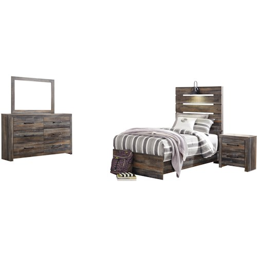 Signature Design by Ashley Drystan Twin Bedroom Group