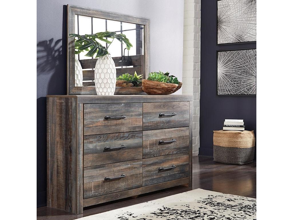 Drystan Dresser and Mirror Set