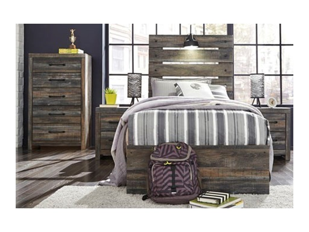 Signature Design by Ashley DrystanTwin Panel Bed