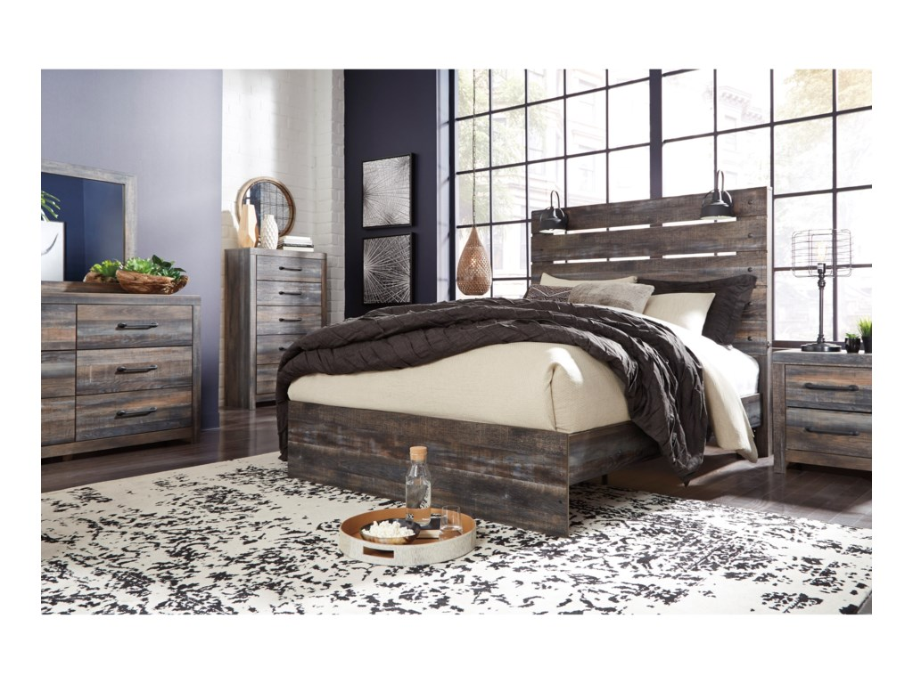Signature Design by Ashley DrystanKing Panel Bed