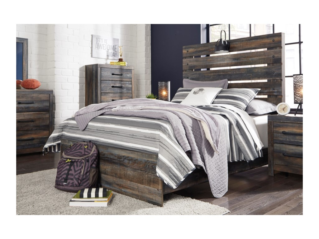 Signature Design by Ashley DrystanFull Panel Bed