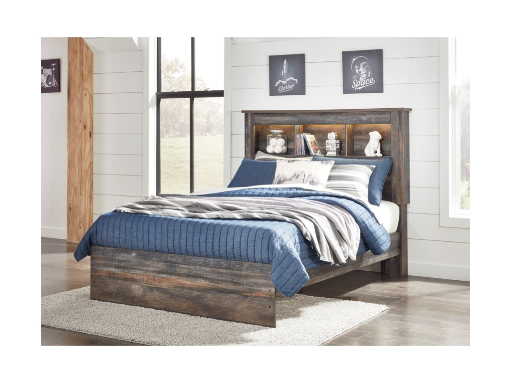 Signature Design by Ashley DrystanFull Bookcase Bed