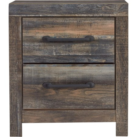 Drystan 2-Drawer Nightstand