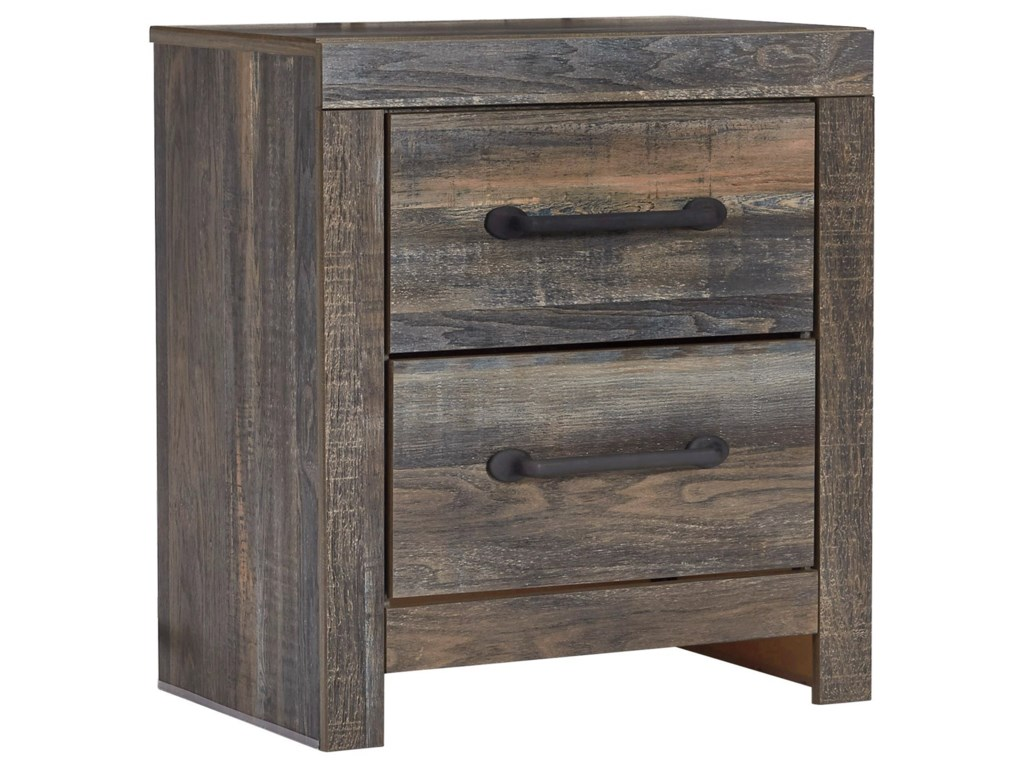 Signature Design by Ashley DrystanTwo Drawer Nightstand
