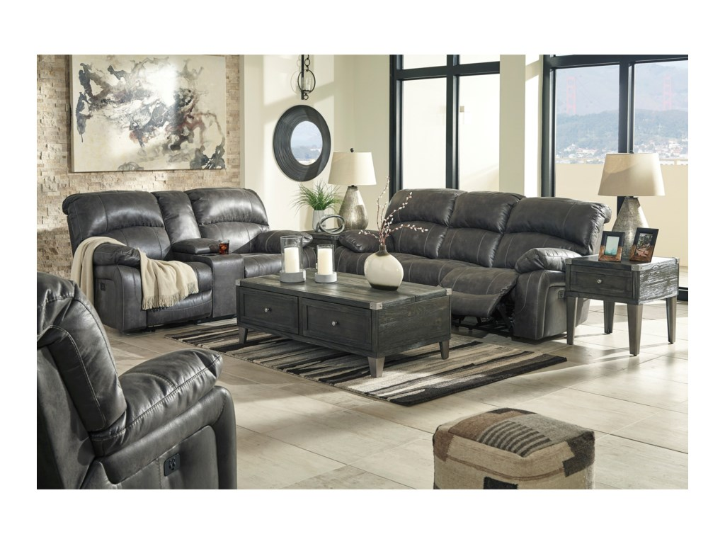 Signature Design by Ashley DunwellReclining Living Room Group