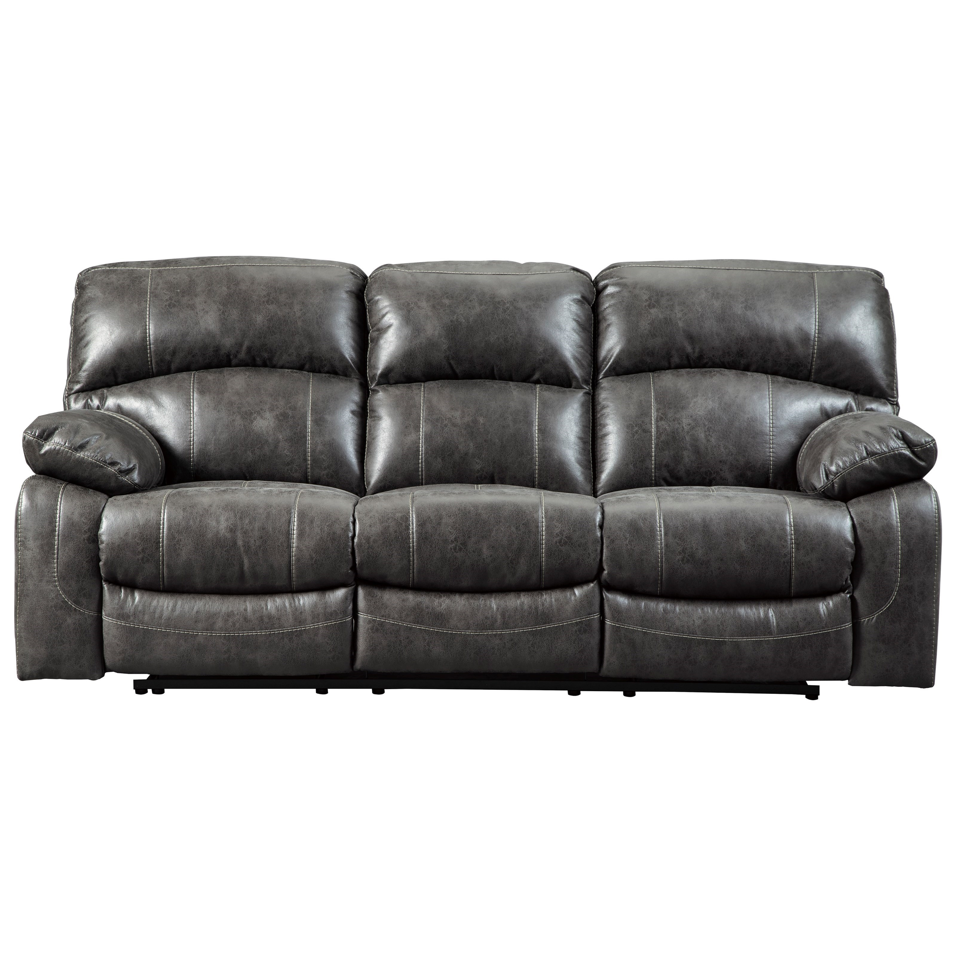 signature design by ashley dunwell 5160115 faux leather power rh beckerfurnitureworld com power recliners sectional sofas best power sofa recliners
