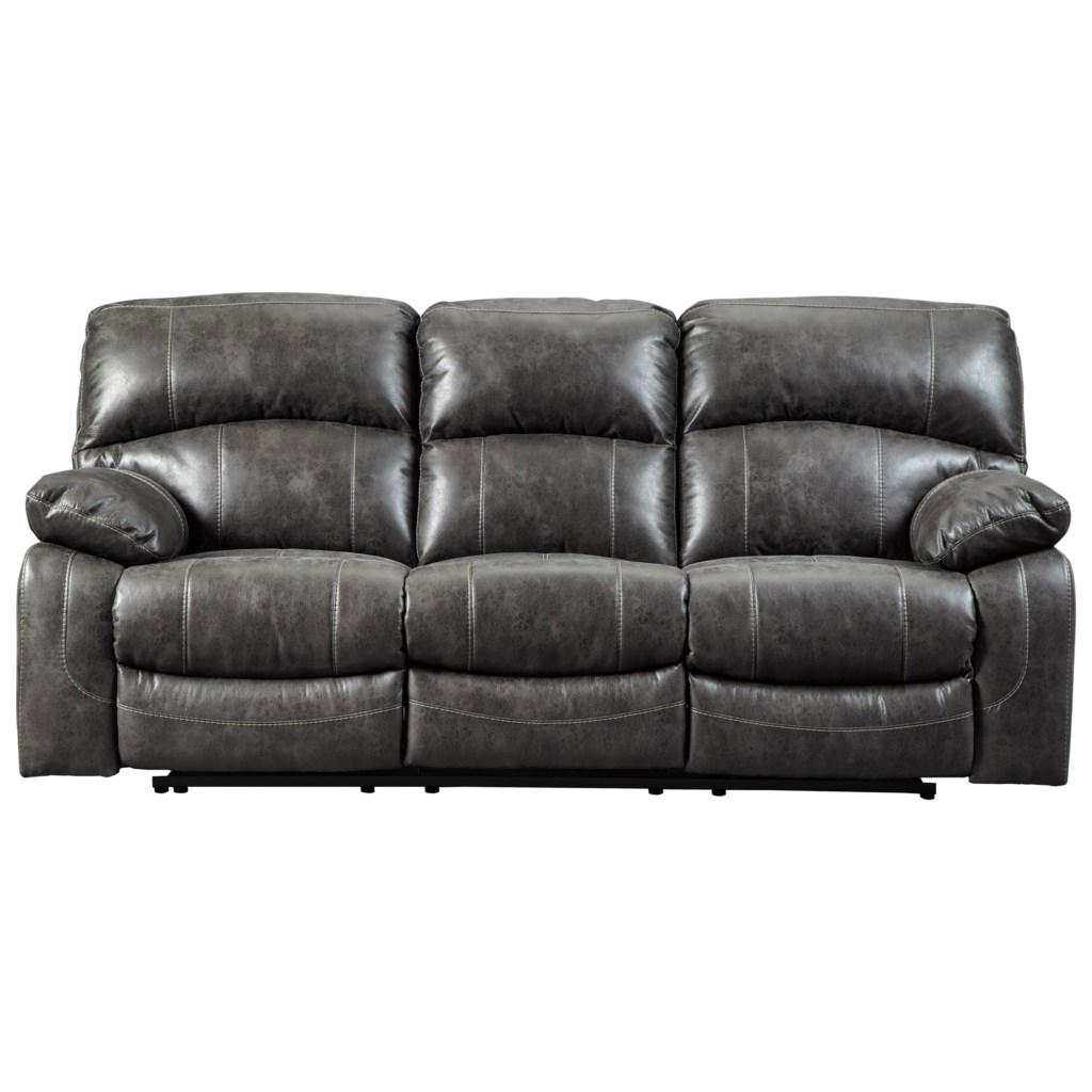 Signature Design By Ashley Dunwell 5160115 Faux Leather Power
