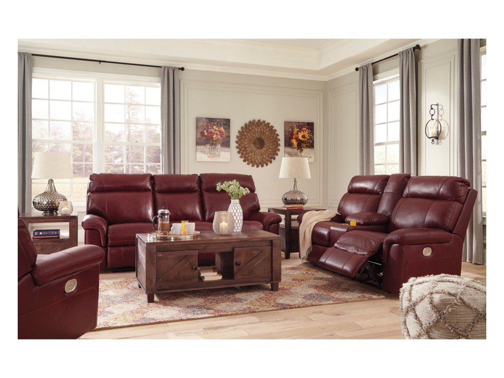 Ashley (Signature Design) DuvicReclining Living Room Group