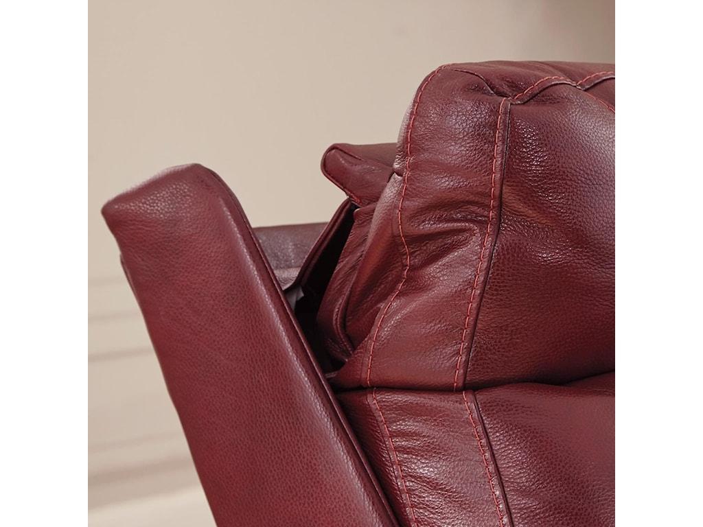 Signature Design by Ashley DuvicPower Recliner w/ Adjustable Headrest