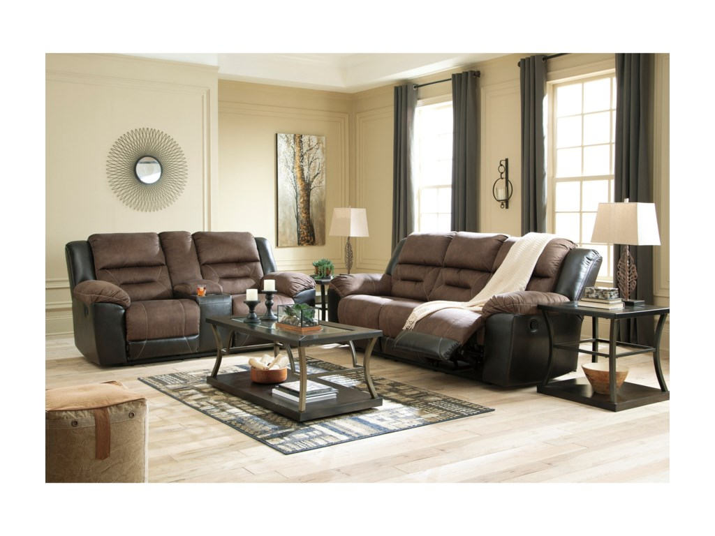 Signature Design by Ashley EarhartReclining Living Room Group