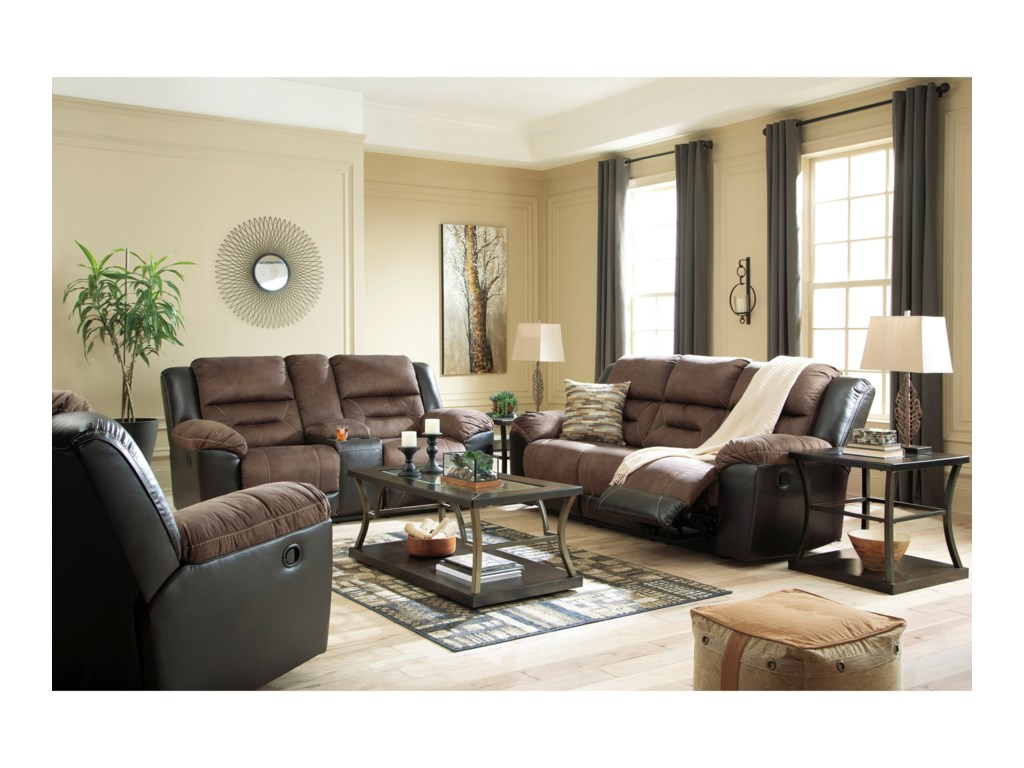 Signature Design by Ashley EarhartRecling Living Room Group