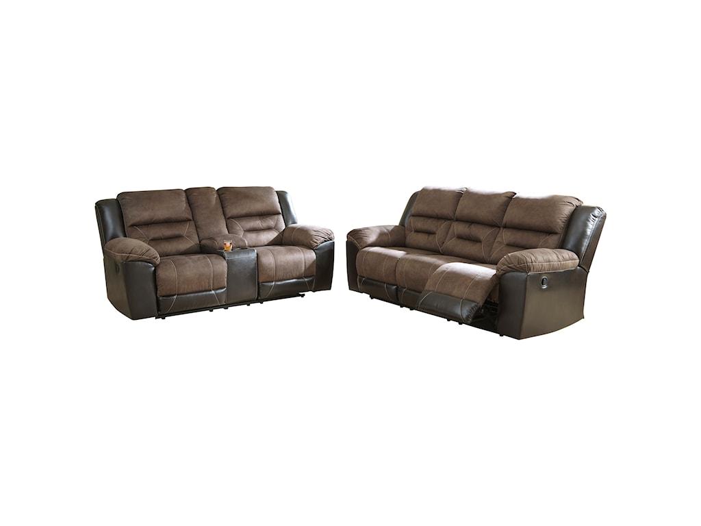 Ashley (Signature Design) EarhartReclining Sofa