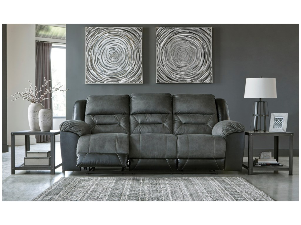 Signature Design by Ashley EarhartReclining Sofa