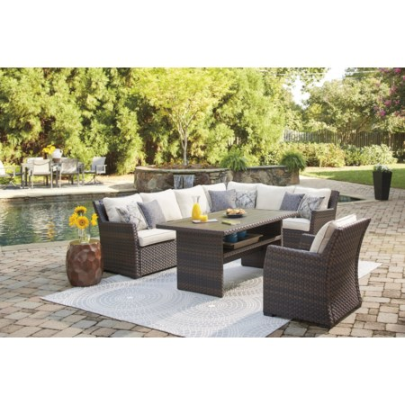 Easy Isle 3 Piece Outdoor Set