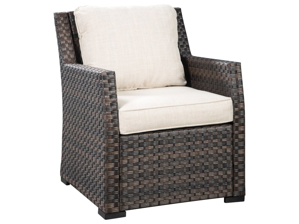 Signature Design by Ashley Easy IsleMulti-Use Table & 4 Lounge Chairs