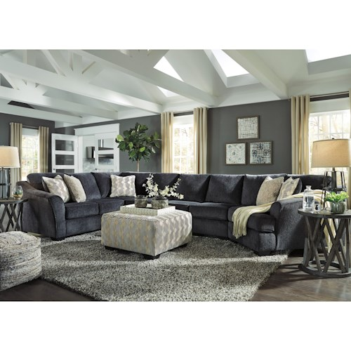 Signature Design by Ashley Eltmann Stationary Living Room Group
