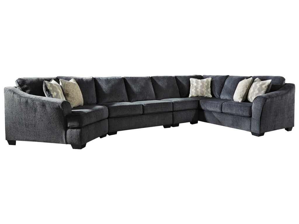 Signature Design by Ashley Eltmann4-Piece Sectional with Left Cuddler