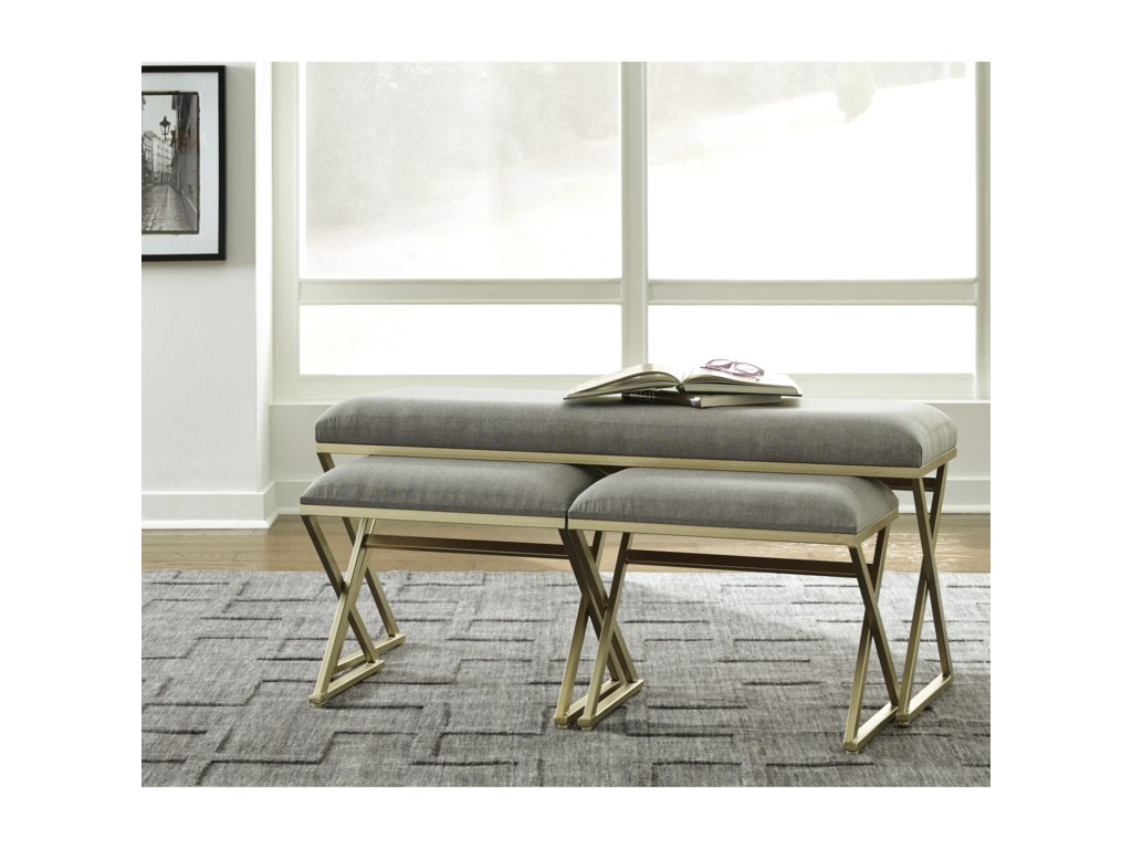 Signature Design by Ashley Simple EleganceAccent Bench Set