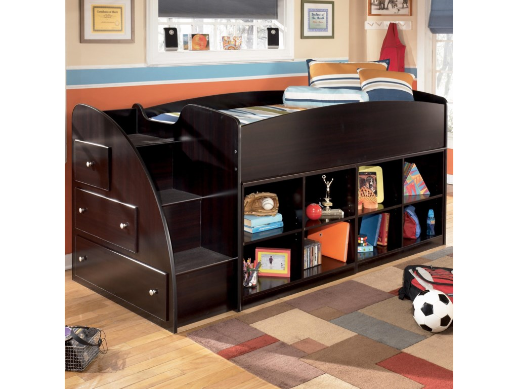 youth furniture bunk beds wrangler twin loft cinnamon bed finish hom