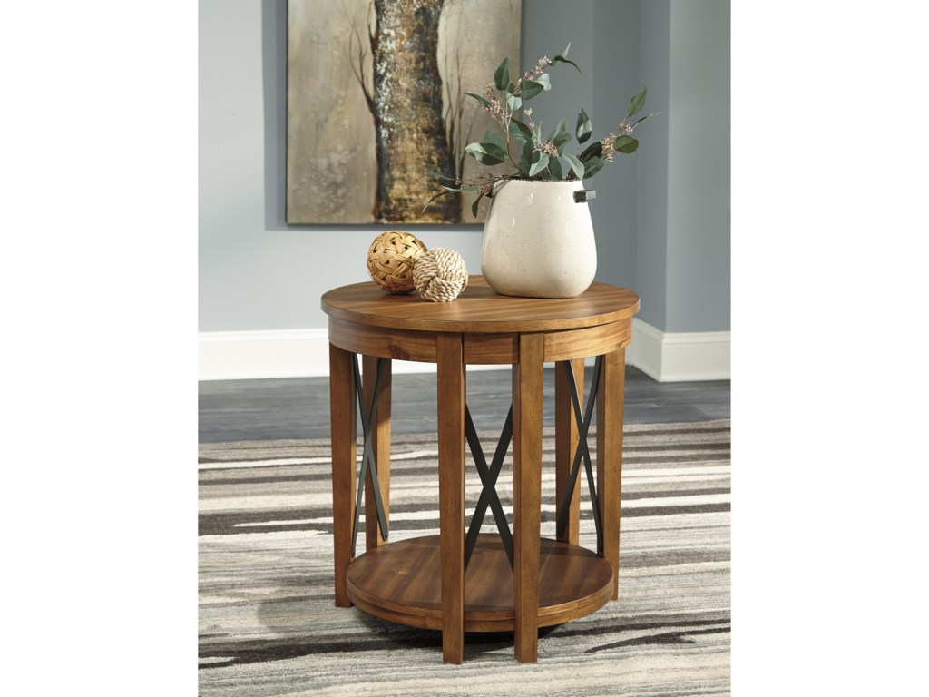 Signature Design by Ashley EmilanderRound End Table