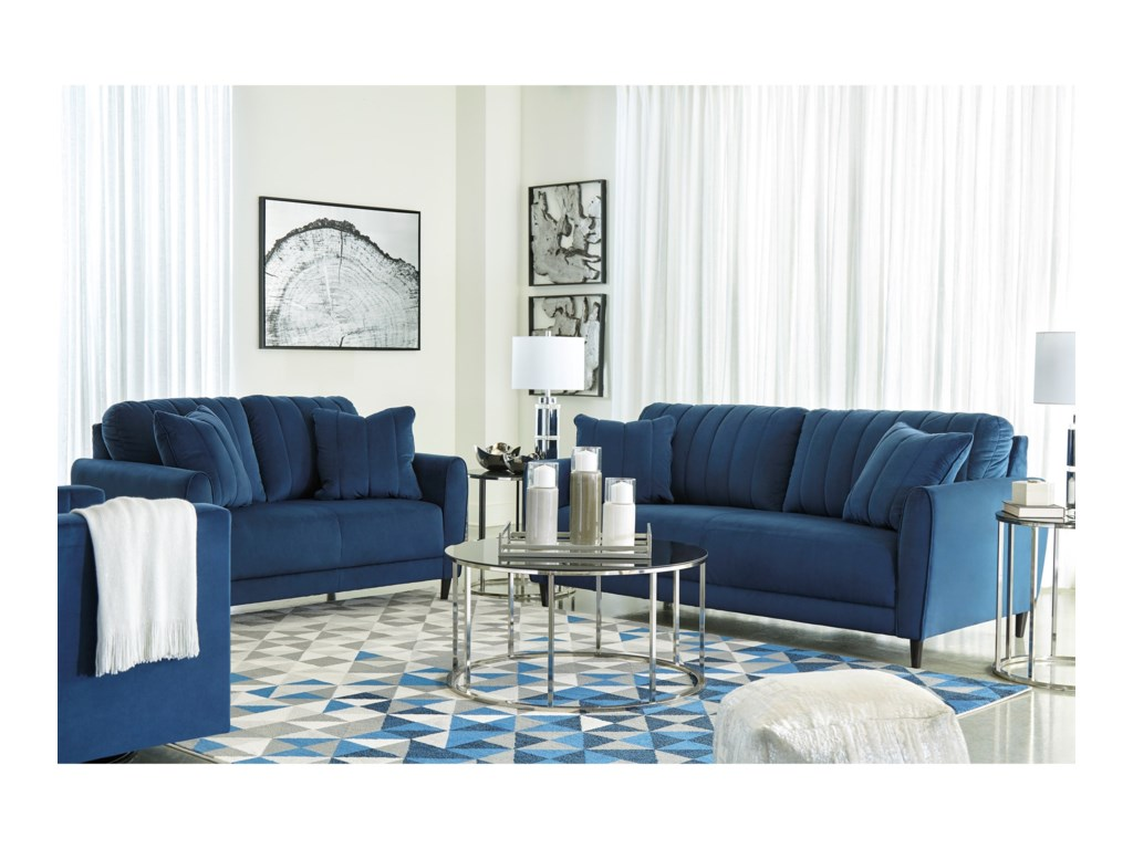 Enderlin Living Room Group by Signature Design by Ashley at Sam Levitz  Furniture