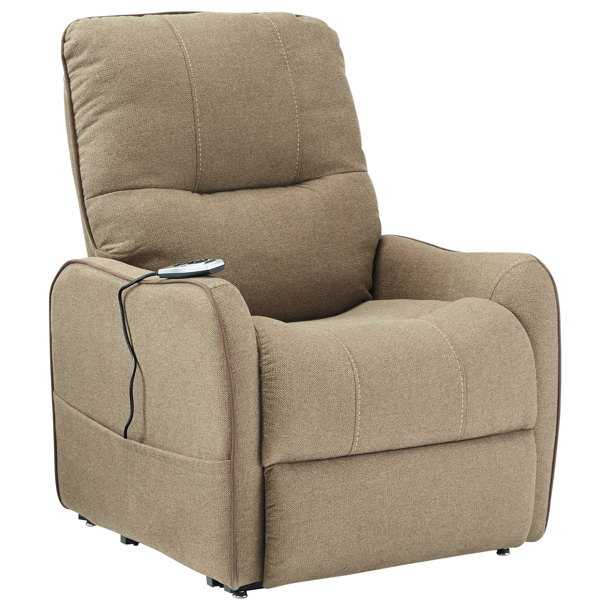 signature design by ashley enjoy power lift recliner with massage and heat