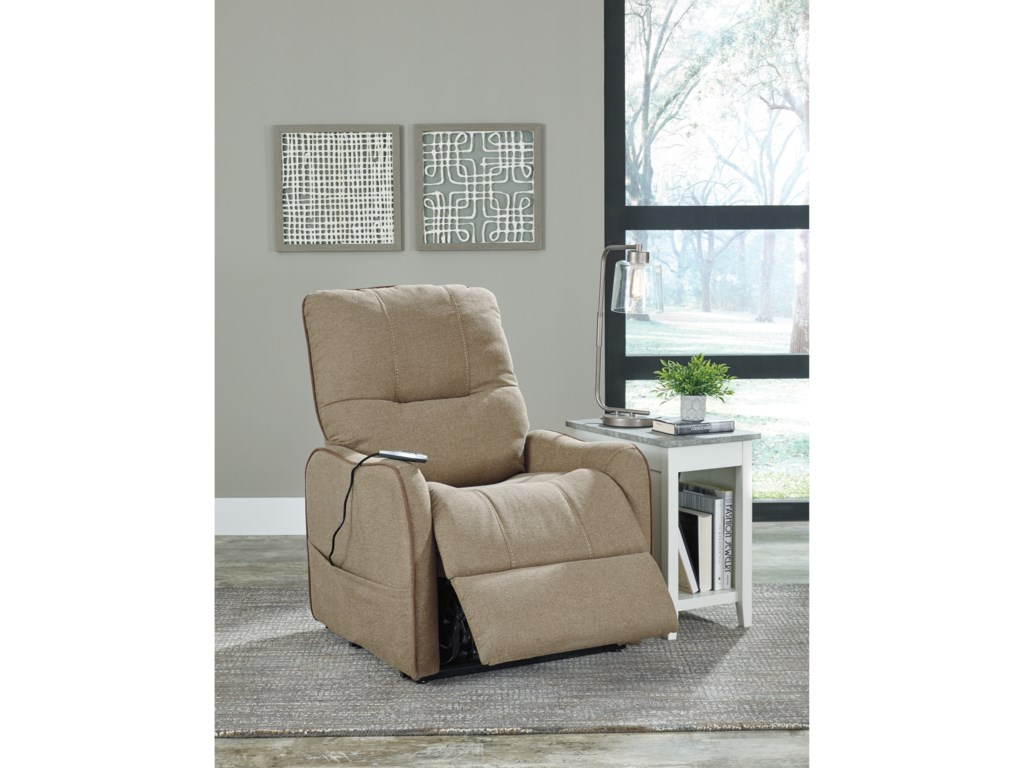 Signature Design by Ashley EnjoyPower Lift Recliner