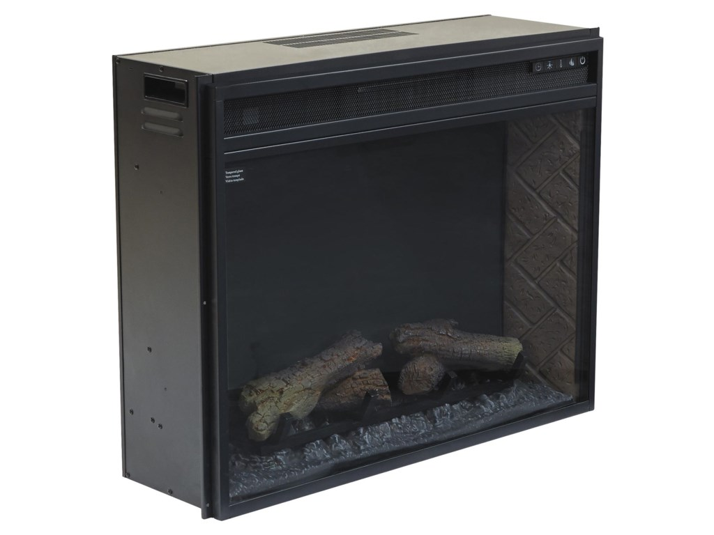 Signature Design by Ashley Entertainment AccessoriesLarge Fireplace Insert Infrared