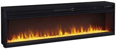 Signature Design by Ashley Entertainment Accessories Wide Fireplace Insert