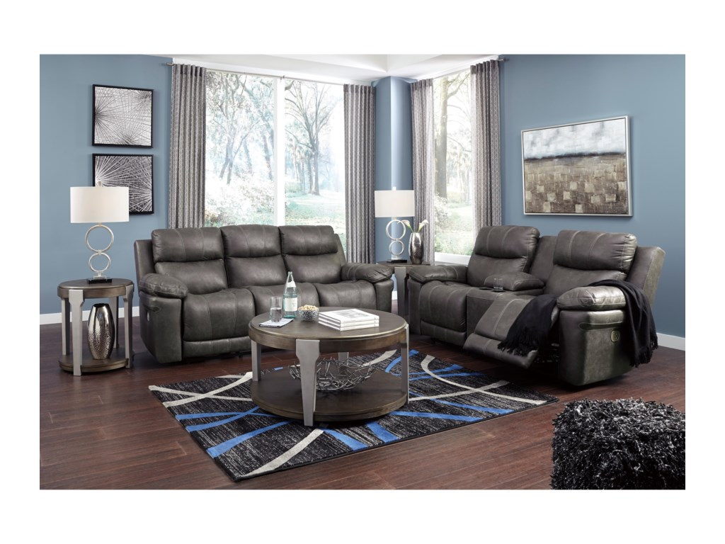 Collection # 4 ErlangenReclining Living Room Group