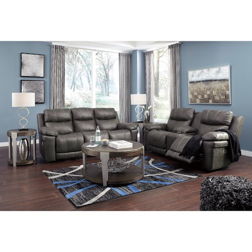 Signature Design by Ashley Erlangen Reclining Living Room Group