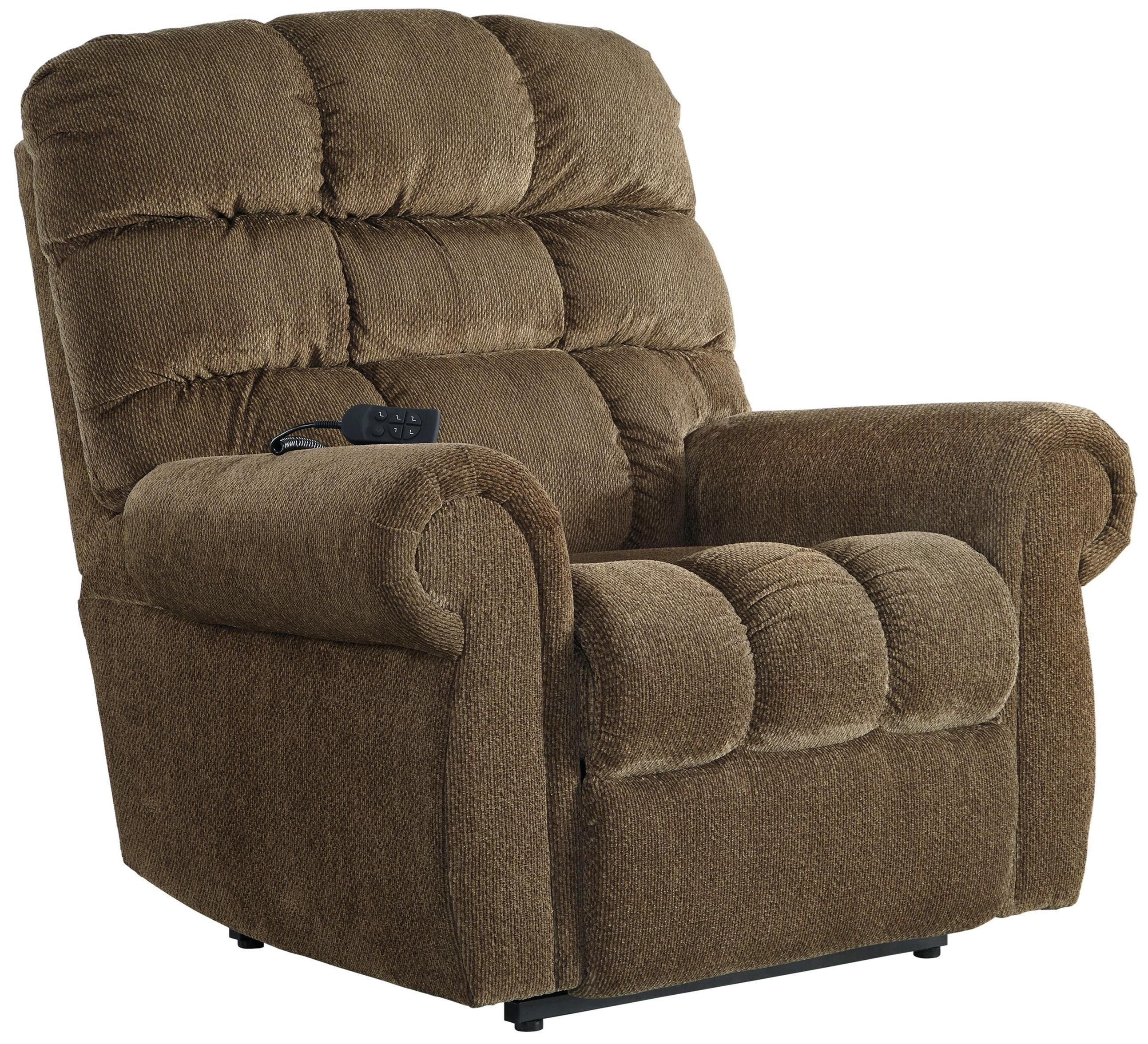 Signature Design by Ashley Ernestine Power Lift Recliner with Rolled Arms  sc 1 st  Wayside Furniture & Signature Design by Ashley Ernestine Power Lift Recliner with ... islam-shia.org