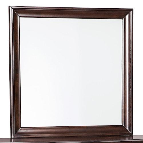 Signature Design by Ashley Evanburg Cherry Finish Bedroom Mirror