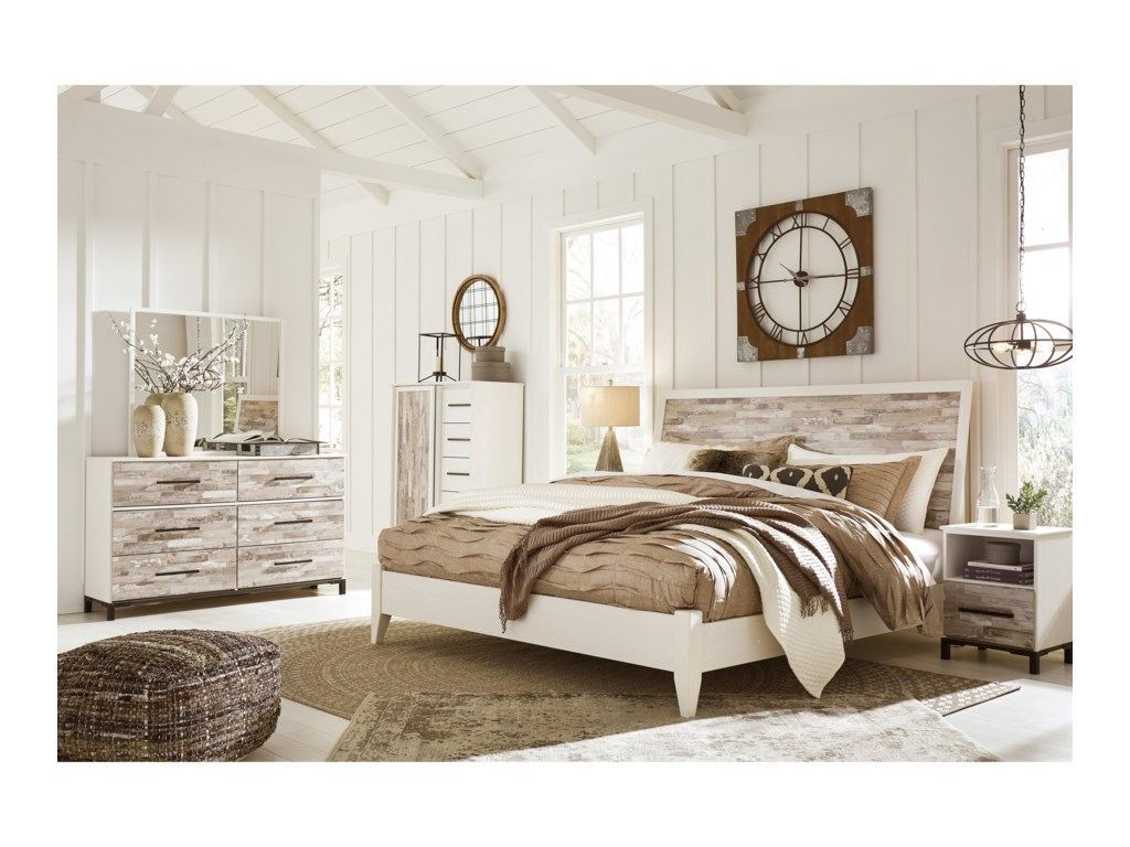 Signature Design by Ashley EvanniKing Bedroom Group