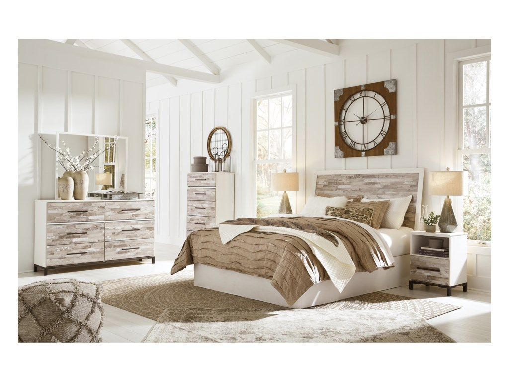 Signature Design by Ashley EvanniQueen/Full Bedroom Group