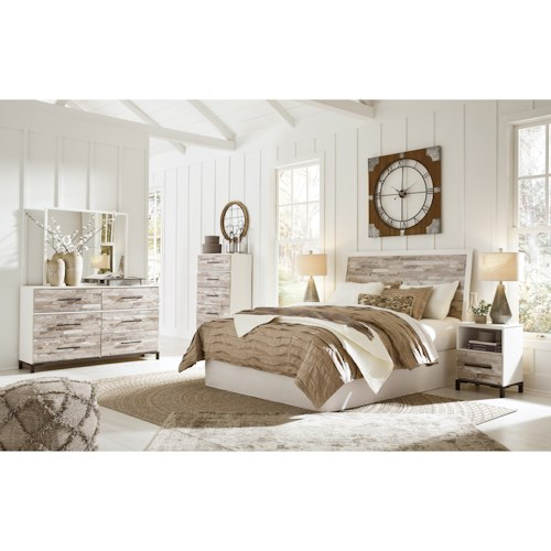 Signature Design by Ashley Evanni Queen/Full Bedroom Group
