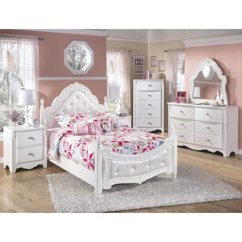 Signature Design By Ashley Exquisite Full Bedroom Group Godby Home Furnishings Bedroom Group