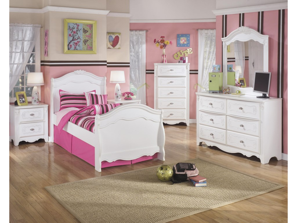 Signature Design by Ashley ExquisiteTwin Bedroom Group