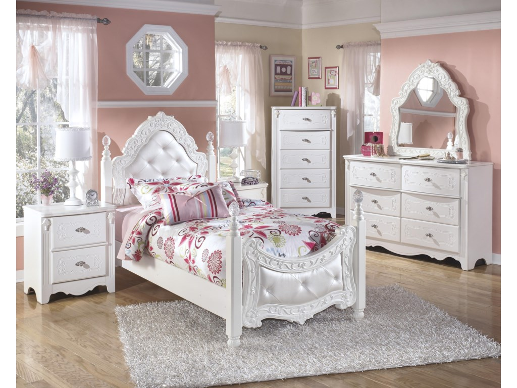 Ashley (Signature Design) ExquisiteTwin Bedroom Group
